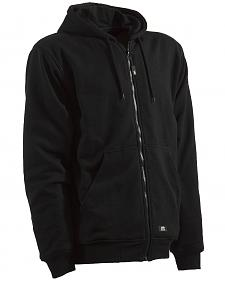 Berne Black Original Hooded Sweatshirt - 3XT and 4XT