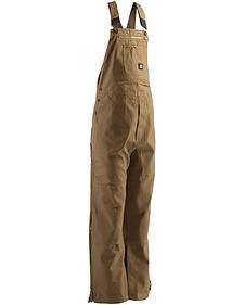 Berne Men's Original Unlined Duck Bib Overalls - Short