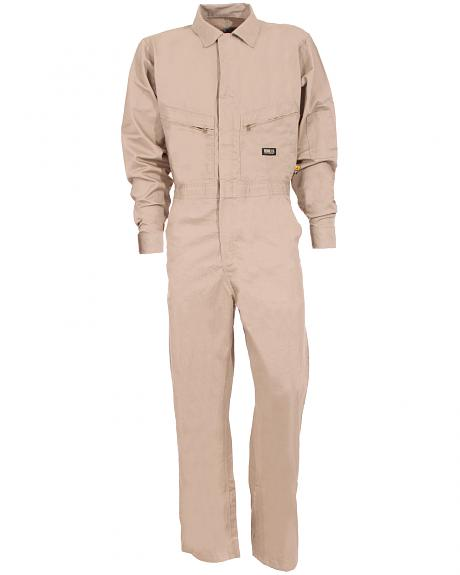 Berne Grey Flame Resistant Deluxe Coveralls - Big (56R - 60R)