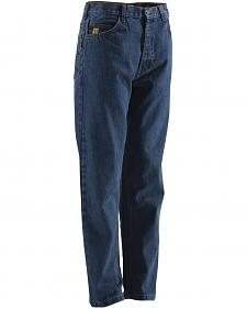 Berne Stonewash Flame Resistant 5-Pocket Jeans