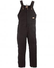 Berne Women's Washed Insulated Bib Overalls - Regular