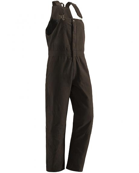 Berne Women's Washed Insulated Bib Overalls - Tall