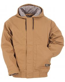 Berne Brown Duck Flame Resistant Hooded Jacket