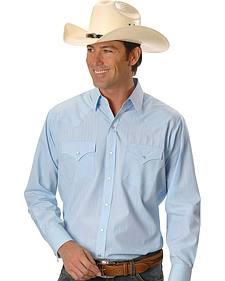 Ely Cattleman Men's Long Sleeve Snap Shirt