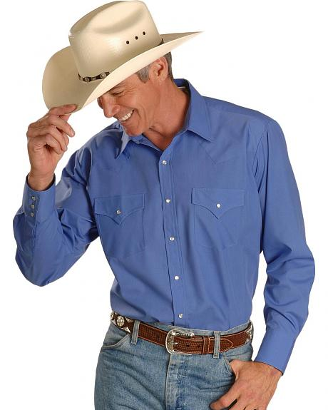 Ely Fashion Colors Classic Western Shirt - Reg