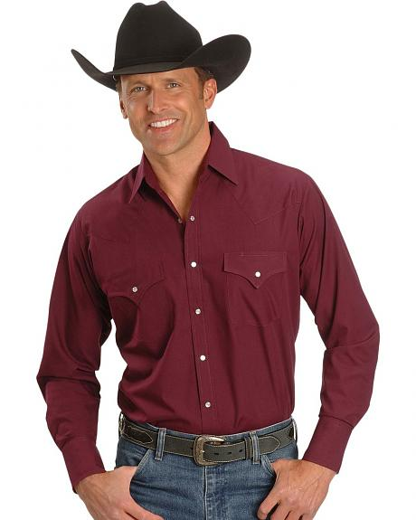 Ely Long Sleeve Fashion Classic Western Shirt - Reg