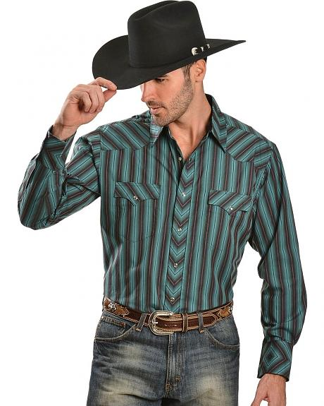 Wrangler Silver Edition Striped Shirt