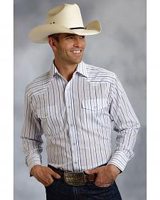 Roper Men's Striped Western Shirt