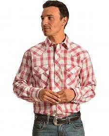 Gibson Trading Co. Red & Blue Plaid Shirt