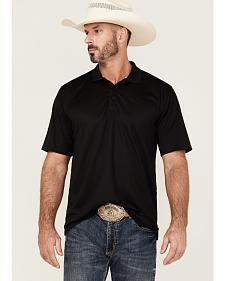 Ariat Black Tek Polo Shirt