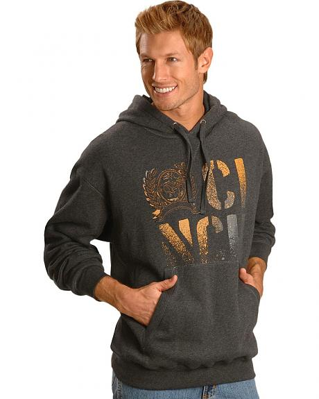 Cinch � Grey Fleece Logo Hoodie