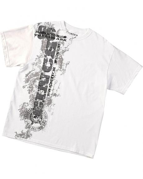 Cinch � White Logo T-Shirt