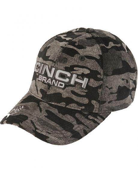 Cinch Embroidered Camo Cap