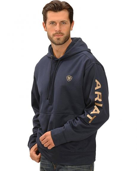Ariat Eclipse Tek Fleece Logo Hoodie