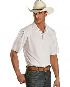 Ariat White Tek Polo Shirt