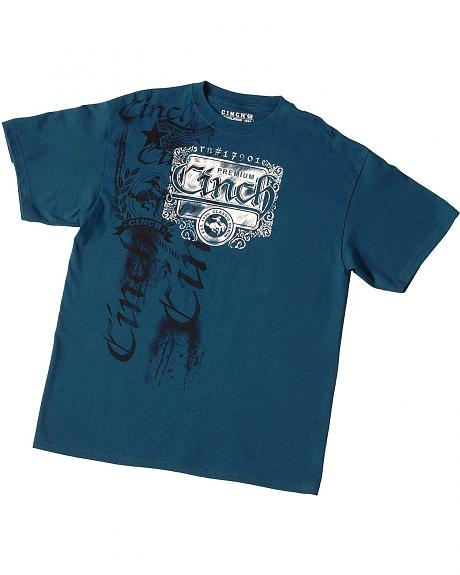 Cinch � Premium Blue T-Shirt