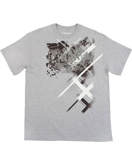 Cinch � Heather Grey Logo T-Shirt