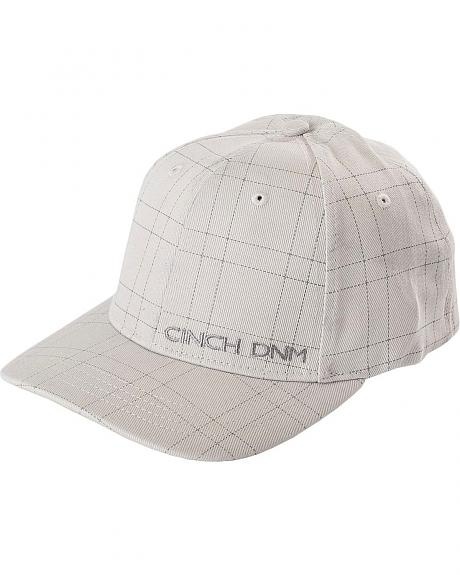 Cinch � Dotted Plaid Flex Fit Cap