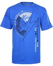 Cinch � Blue Screen Print T-Shirt