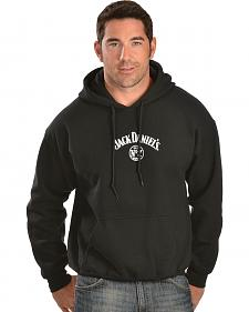 Jack Daniel's Men's Logo Hooded Sweatshirt