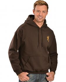 Browning Men's Rope Buckmark Hooded Sweatshirt