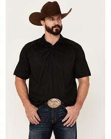 Ariat Black AC Tek Polo Shirt