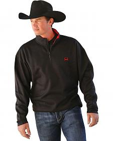 Cinch Black Fleece Pullover