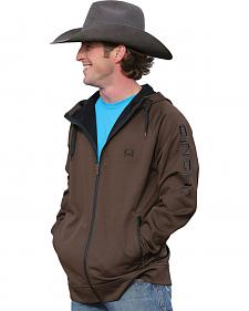 Cinch Men's Zip-Front Hooded Jacket