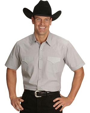 Ely Classic Western Shirt - Custom Fit Neck Sizing $22.99 AT vintagedancer.com