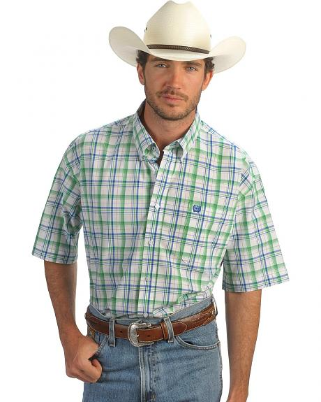 Cinch � Multi Plaid Weave Shirt