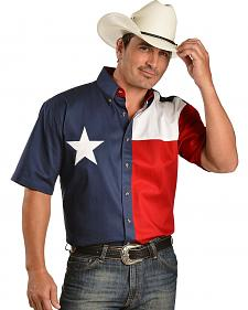 Exclusive Gibson Trading Co. Texas Flag Shirt
