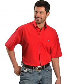 Cinch � Solid Red Shirt