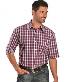 Exclusive Gibson Trading Co. Purple & Grey Plaid Shirt