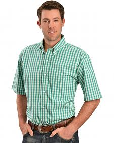 Gibson Trading Co. Green & White Check Shirt
