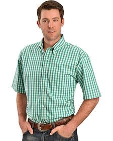 Gibson Trading Co. Green & White Check Shirt