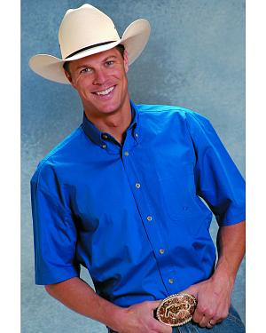 Roper Amarillo Collection Short Sleeve Men