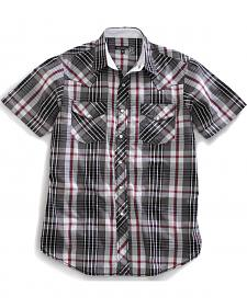 Tin Haul Men's Desi Plaid Short Sleeve Western Shirt