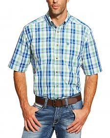 Ariat Men's Multi Brandon Short Sleeve Shirt