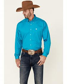 Cinch � Solid Teal Shirt