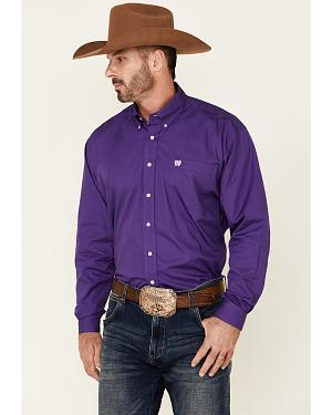 Cinch � Royal Purple Button Shirt - Reg