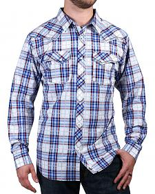 Cody James Men's Trapper's Tail Plaid Western Shirt