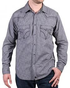 Cody James Men's Leadville Solid Western Long Sleeve Shirt