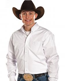Panhandle Slim Tuf Cooper Performance White Shirt