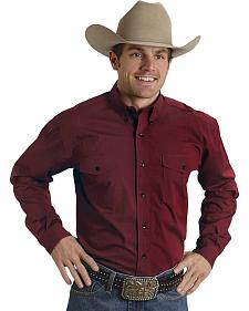 Roper Amarillo Collection Red Western Shirt