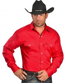 Exclusive Gibson Trading Co. Red Twill Shirt