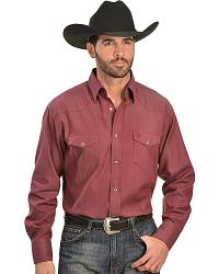Men's Solid Long Sleeve Shirts