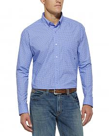Ariat Purple Print Thurston Long Sleeve Shirt