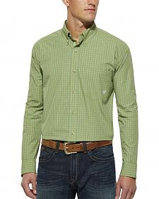 Ariat Green Plaid Randall Long Sleeve Shirt