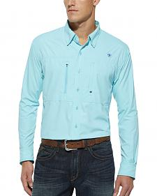 Ariat Radiance Blue Venttek Long Sleeve Shirt