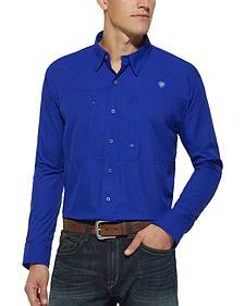 Ariat Blue VentTek Long Sleeve Shirt